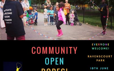 Community Open Ropes Fundraiser for Grenfell Tower families