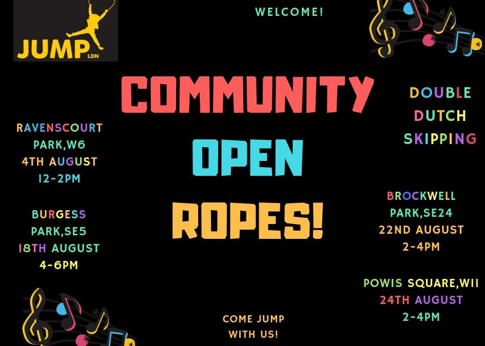 Summer Open Ropes 2019!!!